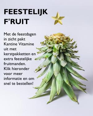 Feestelijk Fruit van Kantine Vitamine